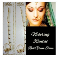 anting hidung nosering india by laila baju india asesoris india
