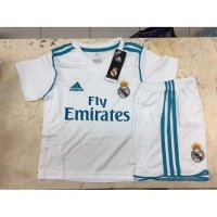 BAJU JERSEY BOLA ANAK REAL MADRID HOME KIDS 2017/2018 GRADE ORI NEW