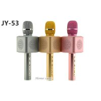 JY-53 Mic Wireless Bluetooth Karaoke Microphone Speaker KTV Efek USB Player Q7 / Q9