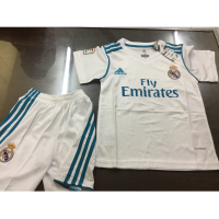 JERSEY BAJU BOLA REAL MADRID HOME KIDS (ANAK) 2017/2018 GRADE ORI