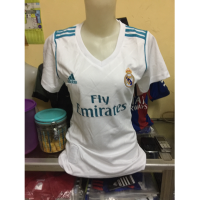 JERSEY BAJU BOLA REAL MADRID HOME LADIES 2017/2018 GRADE ORI