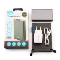 ViVAN Powerbank Q10 Quick Charge 3.0 by Qualcomm Fast Charging