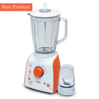 Turbo Blender Glass By Philips EHM-8098 (Orange) (00040.00029)