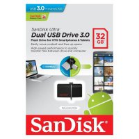 SanDisk Dual USB Drive 3.0 32GB | Flashdisk OTG Android PC 32 GB Ultra