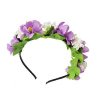 [macyskorea] Love Sweety Flower Wreath Headband Floral Crown Garland Halo for Wedding Fest/16531492