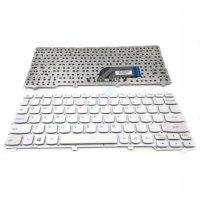 Keyboard Laptop Lenovo IdeaPad 100S 100S-11IBY Putih