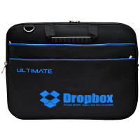 Ultimate Tas laptop Softcase Double Logo Dropbox 12' - Black