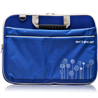 Ultimate Tas Laptop Double Triple Flower 12 inch - Biru