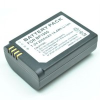 Battery for Camera Samsung NX1 2000mAh - BP1900 - Black