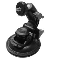 Car Window Suction Cup Tripod - Black