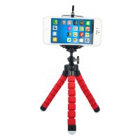 Spider Flexible Tripod Mini - Red