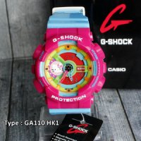 G Shock Hello Kitty Casio GA110,HK1 HelloKitty/wanita