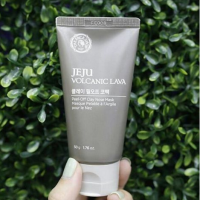 The Faces Shop Jeju Volcanic Lava Peel-Off Clay Nose Mask.