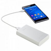 Sony Powerbank USB Charger CP-S15 15000 mAh - Silver