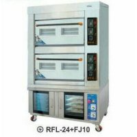 COMBI DECK OVEN PROOFER GETRA RFL-24+FJ10/OVEN GAS/GAS BAKING OVEN