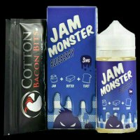 Jam Monster 100ml Eliquid Vape - BlueBerry (USA Liquid)