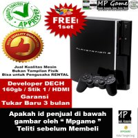 LIMITED Garansi 3 bulan Playstation 3 Fat / Ps3 Fat 160gb Cfw Developer