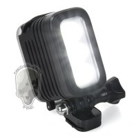 TMC Camera Headlight GoPro Compatible 3 Cree LED 280 Lumens - HR325 - Black