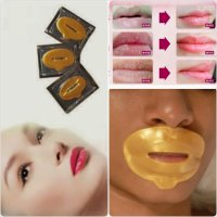 Gold Collagen Lip Mask / MASKER BIBIR EMAS / LIP MASK GOLD COLLAGEN