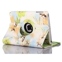 [macyskorea] ThreeCat iPad Mini 2/Mini 3 Smart Case Peach Blossom Pattern Cover with 360 D/18929300