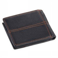 COWATHER Dompet Kulit Pria Masculine Style - Black