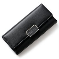 Forever Young Dompet Wanita Model Panjang - Black