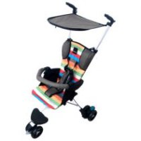 STROLLER BABY ELLE WAVE BROWN