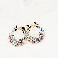 [Free Delivery] FEMALE PARTY SPARKLING JEWELRY / EARRING