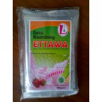 Susu Kambing Ettawa Double L Rasa Strawberry 250 gram