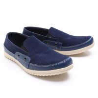 Dr.Kevin Men Casual Shoes Slip On 13205 - Navy
