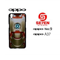 Custom Casing HP Oppo Neo 9 (A37) ironman 2 Hardcase Cover