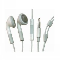 Earphone/Handsfree/Headset ORIGINAL Ori Apple for iPhone4/5/5s & iPad2/3 & iPod nano 4 Jack 3,5mm with + Mic +Volume Vol Control