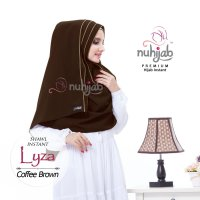 Shawl Instant Lyza Brown by Nuhijab