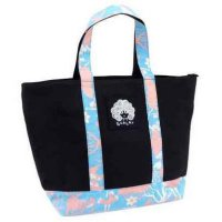 Anello Tote Bag Canvas Size M - Black