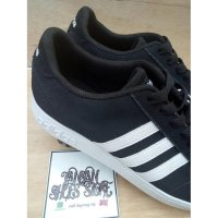 Sepatu ADIDAS Neo Coderby Black White Premium High Quality