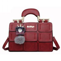 Mei And ge Tas Selempang Handbag Wanita Casual - Red