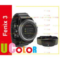 [globalbuy] Genuine New Garmin Fenix 3 GPS Watch with HRM-Run Sapphire & Metal Band/2261392