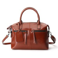 Tas Selempang Kulit Wanita Quality Leather - Brown