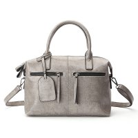 Tas Selempang Kulit Wanita Quality Leather - Gray