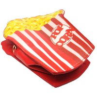 Tas Selempang Wanita 3D Cartoon Bag - Model Pop Corn - Multi-Color