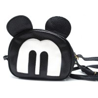 Tas Selempang Wanita Model Mickey Mouse - Black