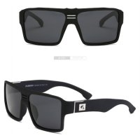 DUBERY Kacamata Pria Retro Polarized Sunglasses - Y729 - Black