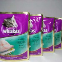 Whiskas Wet Tuna Pouch 85 gram