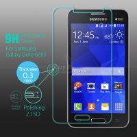 Tempered Glass Samsung Galaxy Core 2 SM-G355H (Bergaransi)|Screen Protector Samsung Core 2 SM-G355H