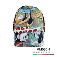 Tas backpack simple karpet mickey mouse MM036-1 SJ0034