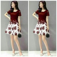 Dress Daisy Brukat 1184R