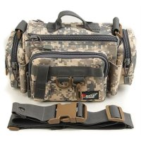 Tas Selempang Canvas Army Outdoor - Camouflage
