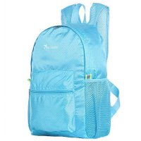 Tas Ransel Lipat Travel Portable Backpack - Blue
