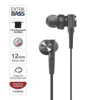 Sony In-Ear Extra Bass Headphone MDR-XB55AP / XB 55AP