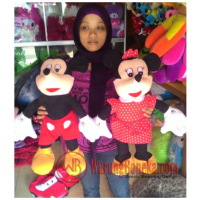 boneka mickey minnie mouse xL